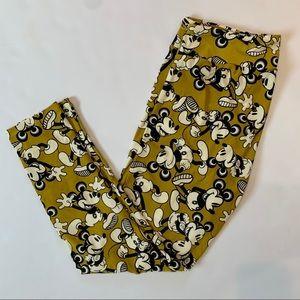New/never worn TC Mickey leggings by LuLaRoe
